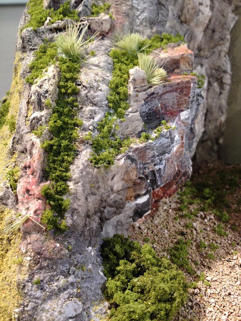 Wie Baut Man Eigentlich Felsen Berg Stummis Modellbahnforum
