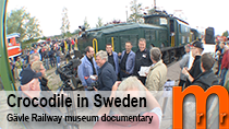Documentary from when the Swiss crocodile locomotive visited Sweden